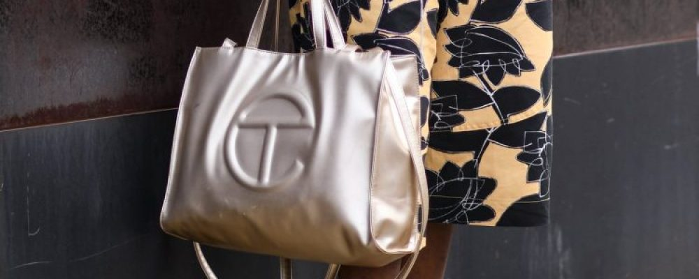 "Celebs Sporting the ""Bushwick Brikin"" aka the Telfar Shopping Bag"