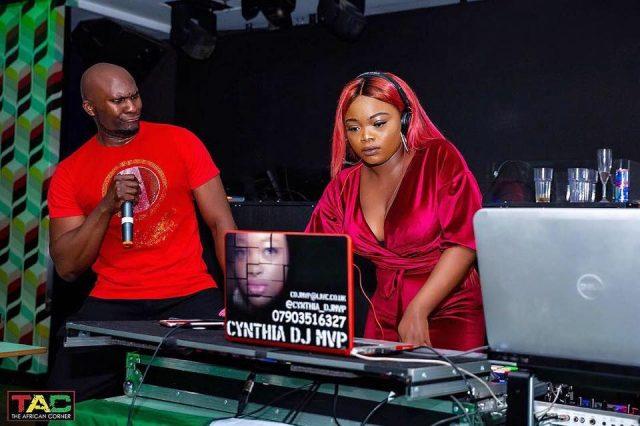 Cynthia DJ MVP