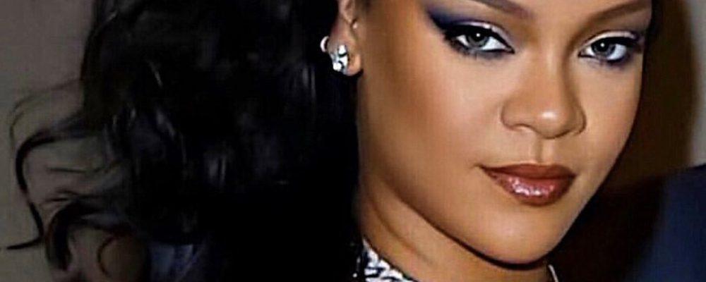 Rihanna Serves At The Porcelain Ball