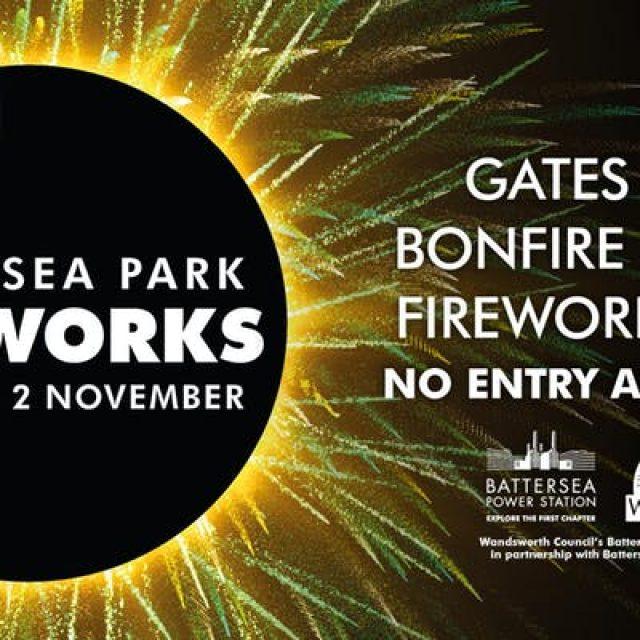 Wandsworth Council's Battersea Park Fireworks 2019