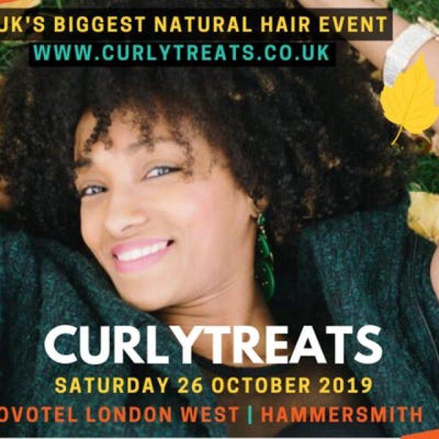 CURLYTREATS 2019 – UK's Natural Afro Hair Show | October 26