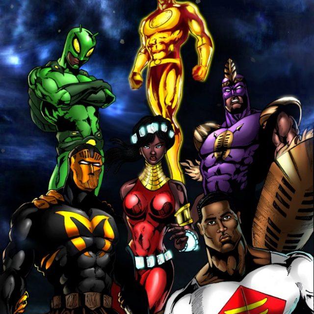 AFRICAN SUPERHEROES