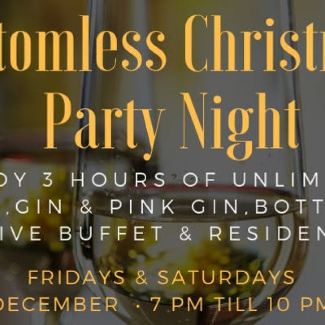 Bottomless Christmas Party Night 7/12