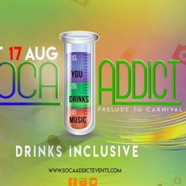 SOCA ADDICT LONDON – Drinks Inclusive!