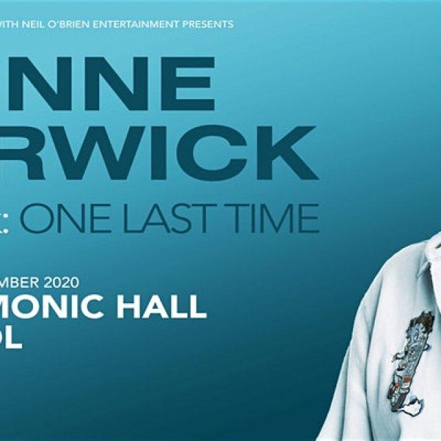 Dionne Warwick 2020 (Philharmonic Hall, Liverpool)