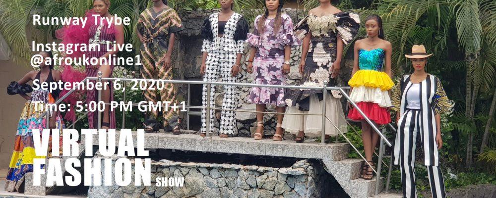 Afro UK's Runway Trybe Virtual Show 2020